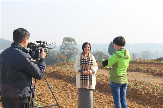 绵阳电视台来公司采访1